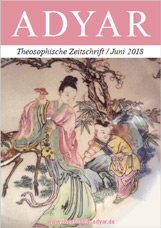 ADYAR - Theosophische Zeitschift   Juni 2018